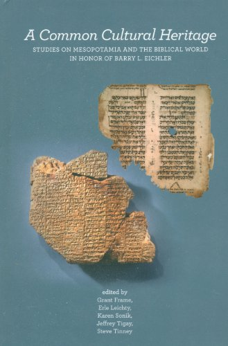 A Common Cultural Heritage: Studies on Mesopotamia: Frame, Grant [Editor];