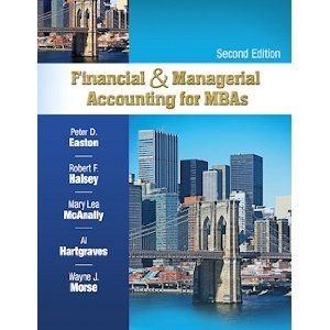 """9781934319383: Financial & Managerial Accounting For MBA""""S 2nd Second edition byHalsey"""