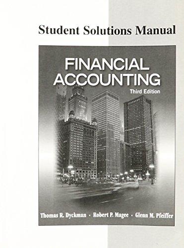 9781934319703: FINANCIAL ACCOUNTING-STUD.SOLN