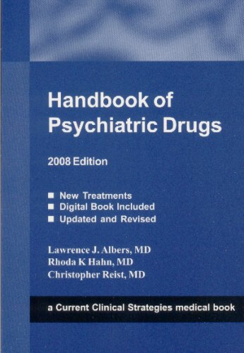 9781934323021: Handbook of Psychiatric Drugs, 2008 Edition