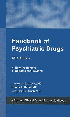 9781934323311: Handbook of Psychiatric Drugs, 2011 Edition