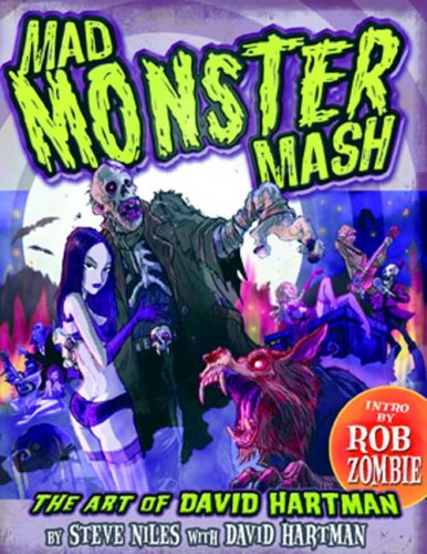 9781934331033: Mad Monster Mash: The Art of David Hartman