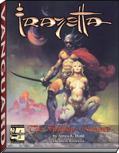 FRAZETTA, THE DEFINITIVE REFERENCE PB (Vanguard Classics): James A. Bond;
