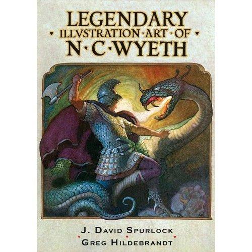9781934331224: Legendary Illustration Art of NC Wyeth Hb
