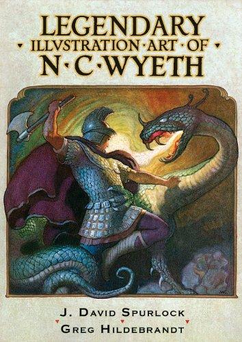 9781934331231: Legendary Illustration Art of N.C. Wyeth PB