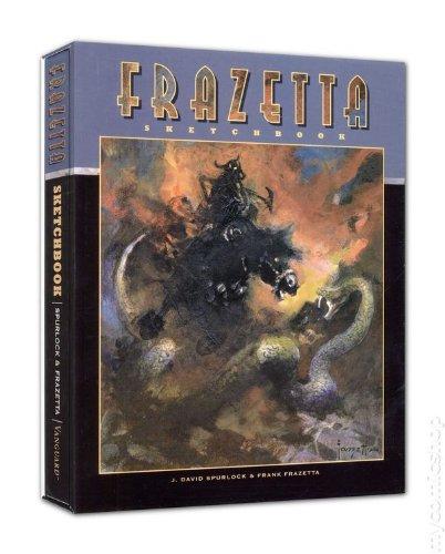 9781934331583: Frazetta Sketchbook Deluxe Slipcased Edition
