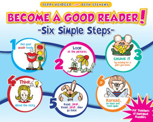 9781934338131: Become a Good Reader! Six Simple Steps