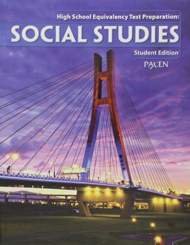 9781934350614: High School Equivalency Test Prep: Student Workbook Social Studies