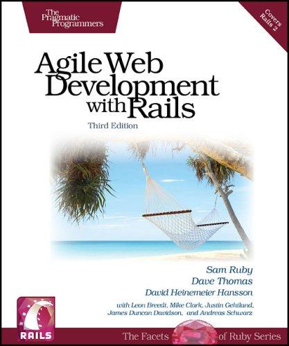9781934356166: Agile Web Development with Rails, Third Edition