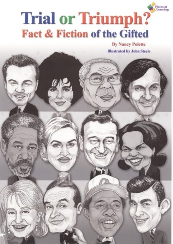 9781934358078: Trial or Triumph? Fact & Fiction of the Gifted by Nancy Polette (2008) Perfect Paperback