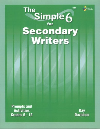 9781934358085: The Simple 6 for Secondary Writers