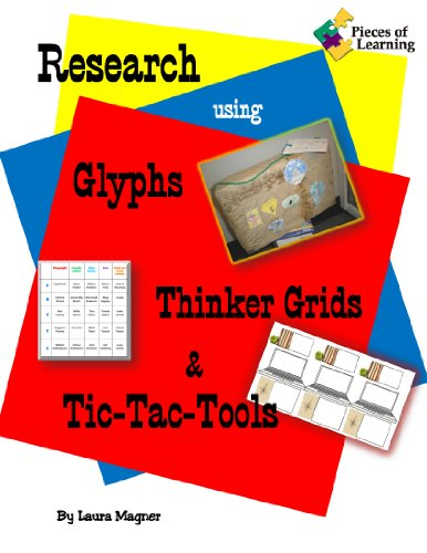 9781934358757: Research Using Glyphs, Thinker Grids, & Tic-Tac-Tools