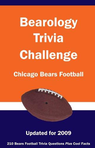 9781934372647: Bearology Trivia Challenge: Chicago Bears Football