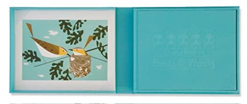 9781934429181: Charles Harper's Birds & Words Ltd Edition W Red-eyed Vireo Print