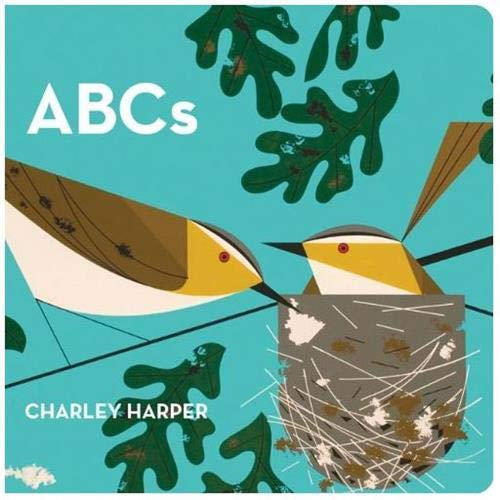 9781934429211: Charley Harper's ABC's: Skinny Version [Board book]