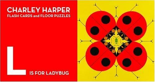 9781934429273: Charley Harper Flash Cards and Floor Puzzles