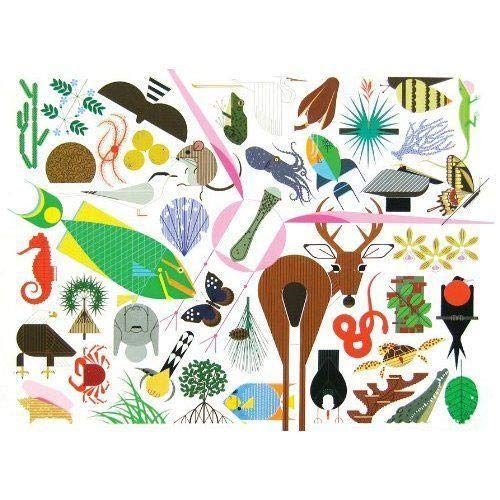9781934429433: Charley Harper's Animal Kingdom