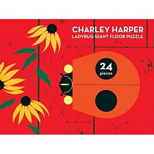 Charley Harper Ladybug Giant Floor Puzzle (1934429538) by Charley Harper