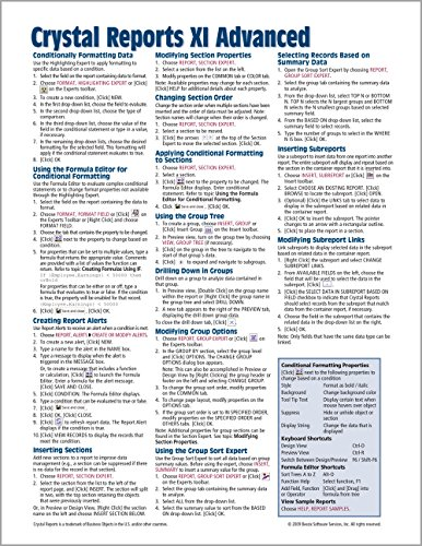 9781934433041 crystal reports xi quick reference guide advanced rh abebooks com crystal reports 9 technical reference guide crystal reports technical reference guide