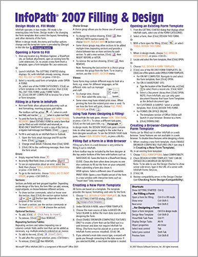 Microsoft InfoPath 2007 Quick Reference Guide on: Beezix Inc