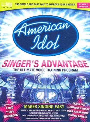 American Idol Singer's Advantage - Female Version (DVD Entertainment Package): Riggs, Seth