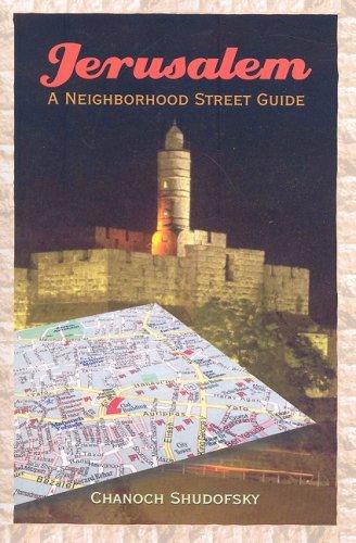 9781934440254: Jerusalem: A Neighborhood Street Guide