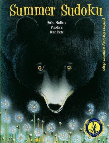 9781934443286: Summer Sodoku 200 + Medium Puzzles And Bear Facts (Alaskan Artist Series)