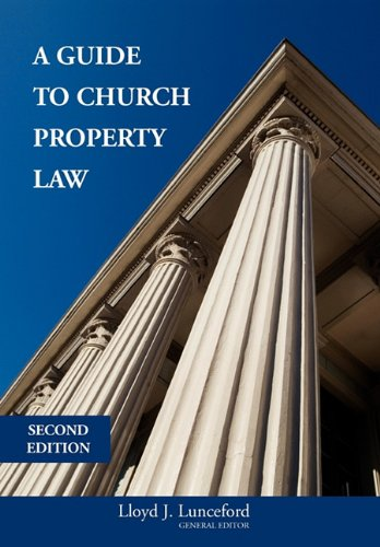 9781934453070: A Guide to Church Property Law Second Edition