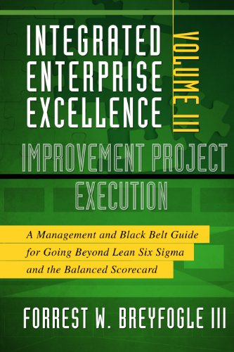 9781934454169: Improvement Project Execution: A Management and Black Belt Guide for Going Beyond Lean Six Sigma and the Balanced Scorecard: 3 (Integrated Enterprise Excellence)