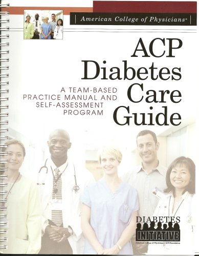 American College of Physicians Diabetes Care Guide: FACP Martin J.