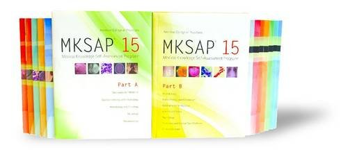 9781934465257: MKSAP 15: Medical Knowledge Self-Assessment Program, Parts A & B (Package)