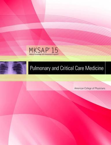 9781934465356: Mksap 15: Pulmonary and Critical Care Medicine