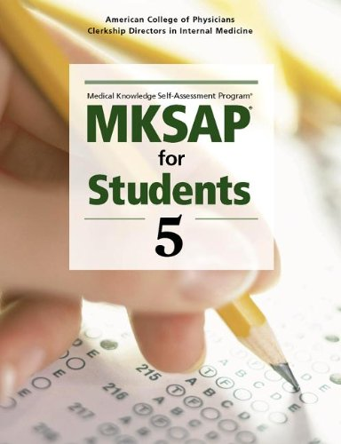 9781934465547: MKSAP® for Students 5