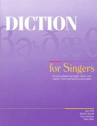 9781934477052: Diction for Singers