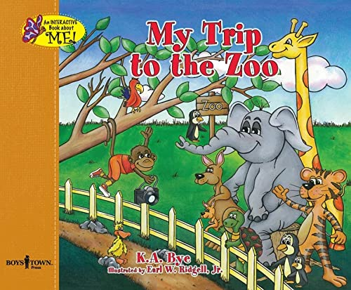 9781934490006: My Trip To The Zoo (Interactive Book about Me!)