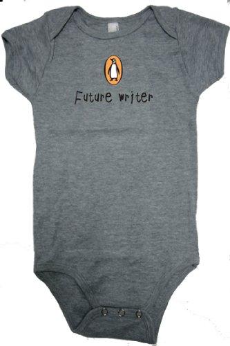 9781934511206: Penguin Onesie: Future Writer (6-12 mos) Heather Gray