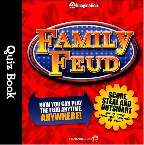Family Feud Quiz Book (Imagination International Quiz Books): Imagination International
