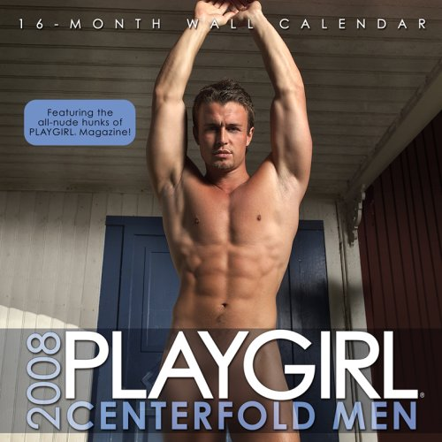 9781934525005: 2008 Playgirl Centerfold Men Wall Calendar
