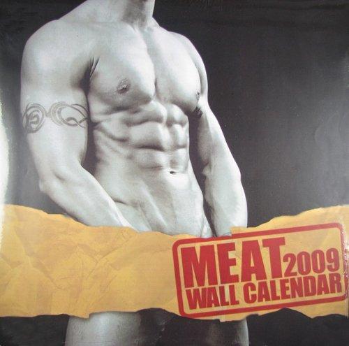 Meat 2009 Wall Calendar (193452557X) by BIG Daddy