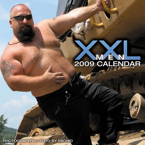 9781934525593: XXL Men 2009 Calendar
