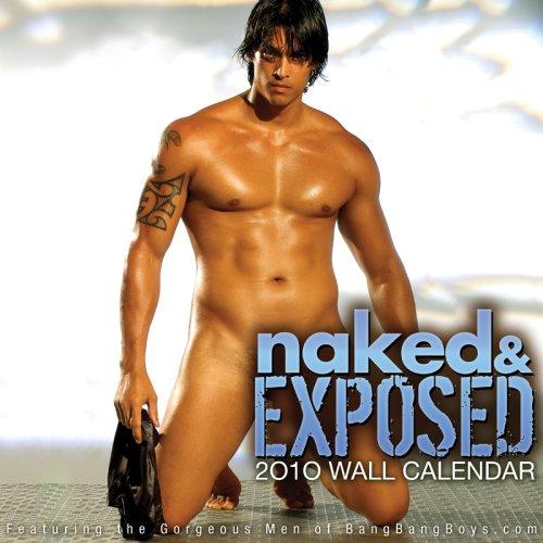 9781934525753: BangBangBoys.com: Naked & Exposed 2010 Wall Calendar