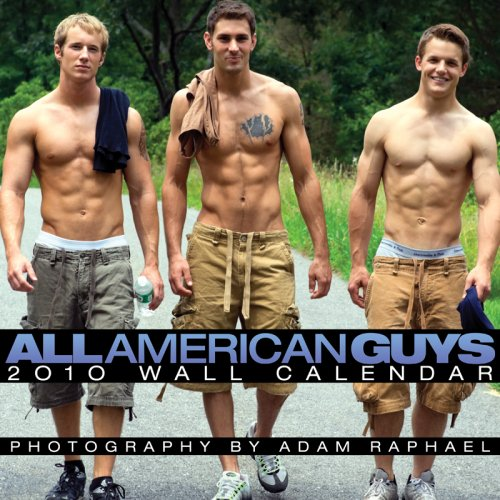 9781934525913: 2010 All-American Guys Wall Calendar