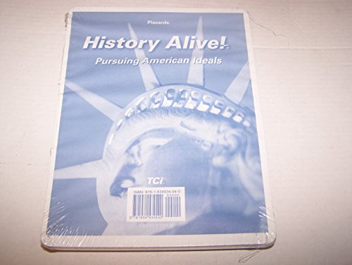 9781934534540: History Alive Pursuing American Ideals Placards