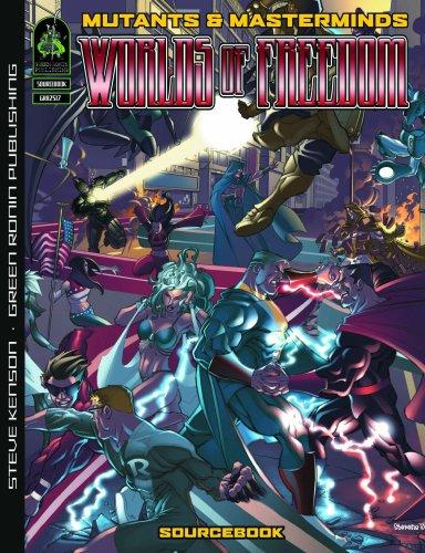 9781934547076: Mutants & Masterminds: Worlds of Freedom