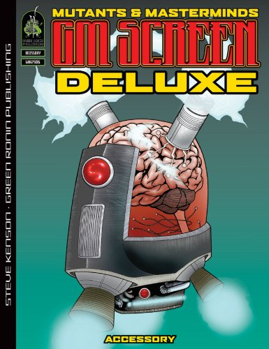 9781934547106: Mutants & Masterminds Deluxe GM Screen