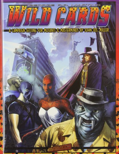 Mutants Masterminds Rpg Wild Cards (1934547115) by Miller, John Jos