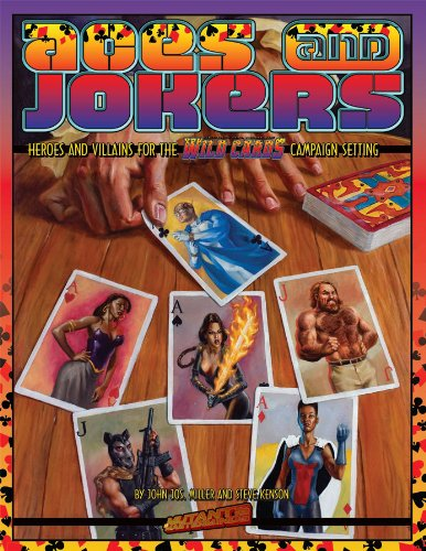 9781934547250: Mutants & Masterminds: Wild Cards - Aces & Jokers