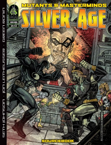 9781934547311: Mutants Masterminds Rpg Silver Age