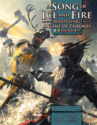 9781934547472: A Song of Ice & Fire RPG: A Game of Thrones Edition (Song of Fire & Ice Role Pg)