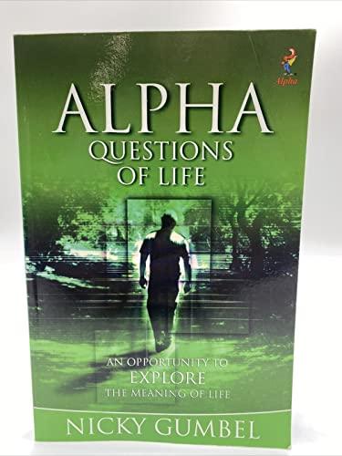 9781934564066: Alpha - Questions of Life